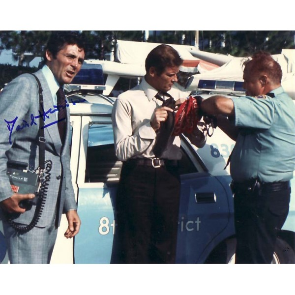 David Hedison James Bond genuine authentic signed autograph photo