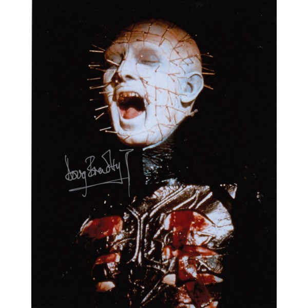 Doug Bradley Pinhead genuine signed authentic signature photo