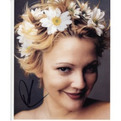 Drew Barrymore genuine signed authentic autograph photo