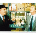 George Cole Minder genuine signed authentic signature photo