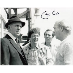George Cole Minder signed autograph photo 4