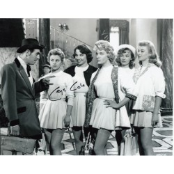 George Cole St Trinians genuine signed authentic signature photo