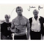 James Bond Julian Glover authentic signed original genuine autograph photo