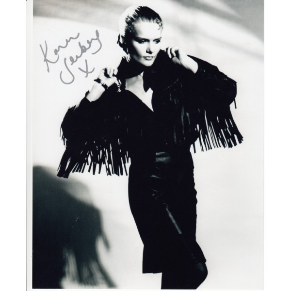 James Bond Karen Seeberg signed original genuine autograph authentic photo