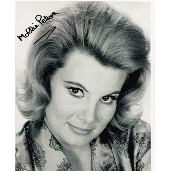 James Bond Mollie Peters authentic signed original genuine autograph authentic photo