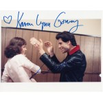 John Travolta and Karen Lynn Gorney authentic signed autograph photo