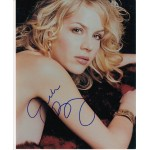 Julie Benz signed authentic autograph photo.