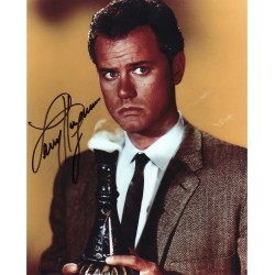 Larry Hagman I Dream of Jeannie signed authentic autograph photo