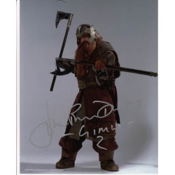 Lord of the Rings John Rhys Davies signed authentic autograph photo