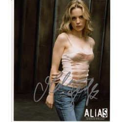 Melissa George Alias signed authentic autograph photo.
