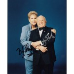 Mickey Rooney and Jan Rooney authentic signed autograph photo