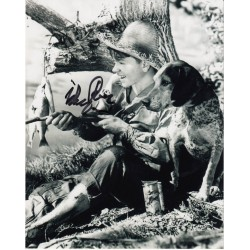 Mickey Rooney genuine authentic signed autograph  photo