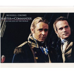 Paul Bettany signed autograph photo
