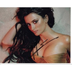 Penelope Cruz genuine signed authentic autograph photo