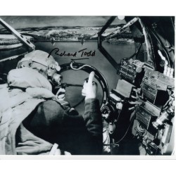Richard Todd DamBusters genuine signed authentic signature photo