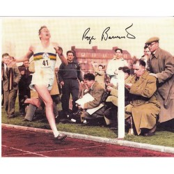 Roger Bannister signed authentic autograph photo