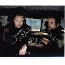 Ryan Reynolds and Jessica Biel Blade Trinity genuine signed authentic signature photo