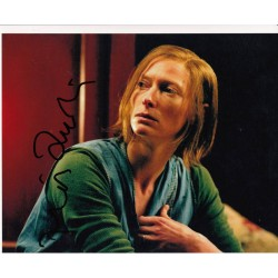 Tilda Swinton genuine signed authentic signature photo
