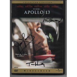 SOLD Apollo 13 Jim Lovell Tom Hanks authentic genuine signed DVD dealer