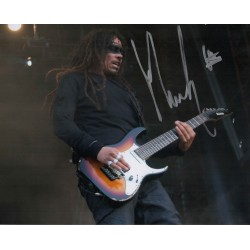 James Shaffer Munky Korn genuine authentic autograph signed photo