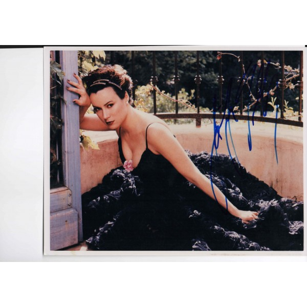 Jennifer Tilly genuine authentic autograph signed photo