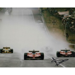 Jody Scheckter Ferrari F1 genuine authentic autograph signed photo