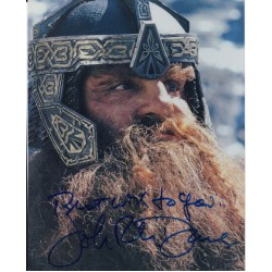 john Ryhs Davies LOTR Lord Rings genuine authentic autograph signed photo 6.