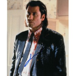 John Travolta Reservoir Dogs genuine authentic autograph signed photo