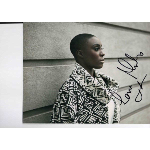 Laura Mvula genuine authentic autograph signed photo