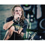 Randy Blythe Lamb of God genuine authentic autograph signed photo
