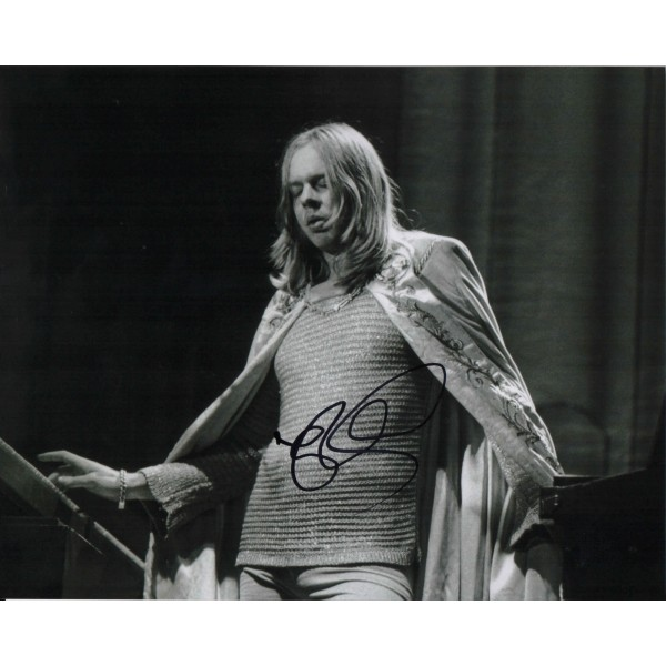 Rick Wakeman YES genuine authentic autograph signed photo