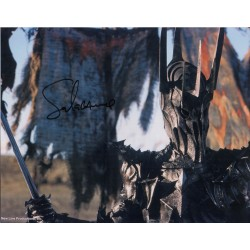 Sala Baker LOTR Lord Rings genuine authentic autograph signed photo