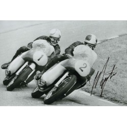 SOLD Giacomo Agostini Motor cycling genuine authentic autograph signed photo