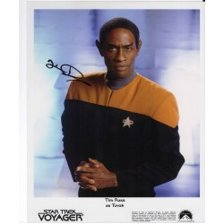 Tim Russ Star Trek Voyager genuine authentic autograph signed photo