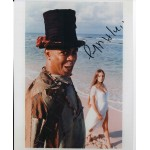 Geofrey Holder James Bond signed authentic autograph photo