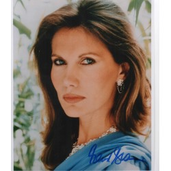 SOLD Maud Adams James Bond signed authentic autograph photo
