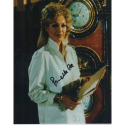 Prunella Gee James Bond signed authentic autograph photo