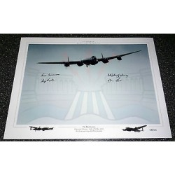 Dambuster 617 Sqn Grayston Johnston Munro signed authentic autograph genuine photo