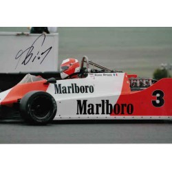 Alain Prost F1 McLaren authentic genuine autograph signed photo.