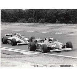 Didier Pironi Ferrari F1 genuine signed authentic autograph photo