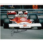 F1 Jochen Mass McLaren signed original genuine autograph authentic photo