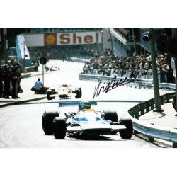 Henri Pescarolo F1 Matra genuine authentic autograph signed PHOTO 2.