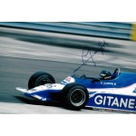 Jacques Laffite F1 Ligier genuine authentic autograph signed photo 2.