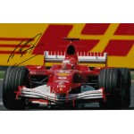 Michael Schumacher Ferrari F1 authentic genuine autograph signed photo.