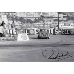 Paddy Hopkirk Monte Carlo Rally genuine autograph signed photo UACC