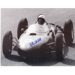 Phil Hill Ferrari F1 signed authentic autograph photo