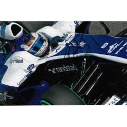 Rubens Barrichello Williams F1 signed authentic autograph photo