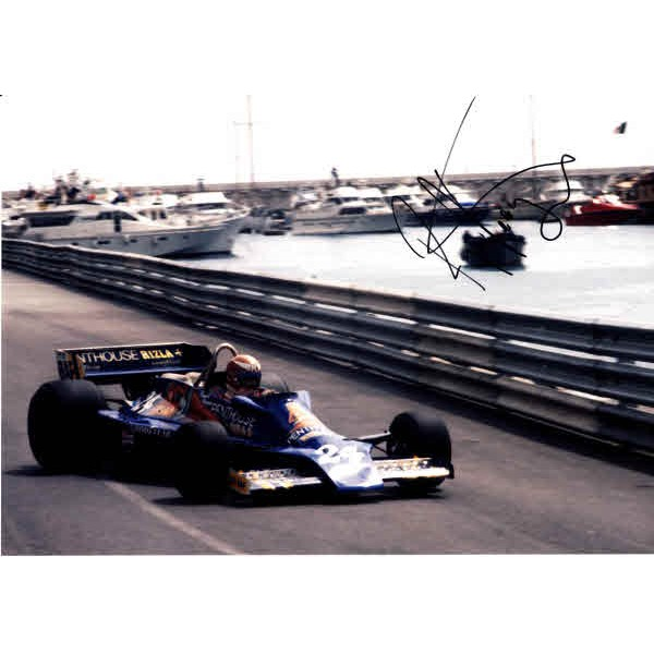 Rupert Keegan F1 genuine signed authentic signature photo