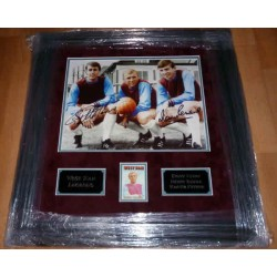 Bobby Moore West Ham legends authentic genuine signed autograph photo