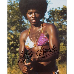 Gloria Hendry James Bond genuine signed authentic autograph photo